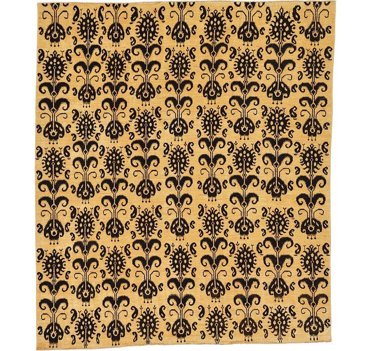 8' 2 x 9' 6 Ikat Oriental Rug