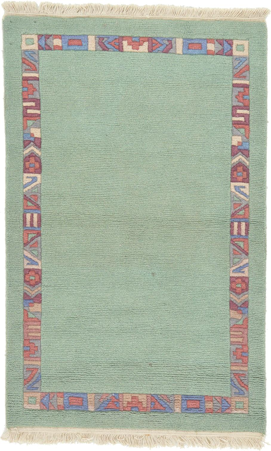 Light Green 3 X 4 10 Indo Tibet Rug Area Rugs Esalerugs