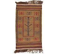 Link to 2' 6 x 4' 3 Kilim Afghan Rug