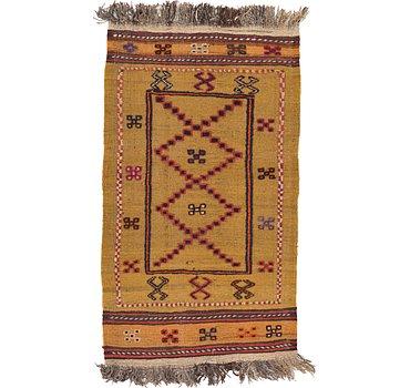 74x132 Kilim Afghan Rug