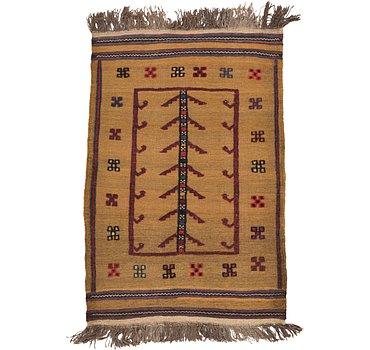 81x122 Kilim Afghan Rug