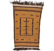 Link to 3' x 4' 3 Kilim Afghan Rug
