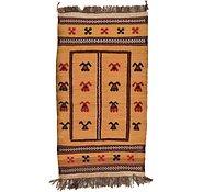 Link to 2' 7 x 4' 9 Kilim Afghan Rug