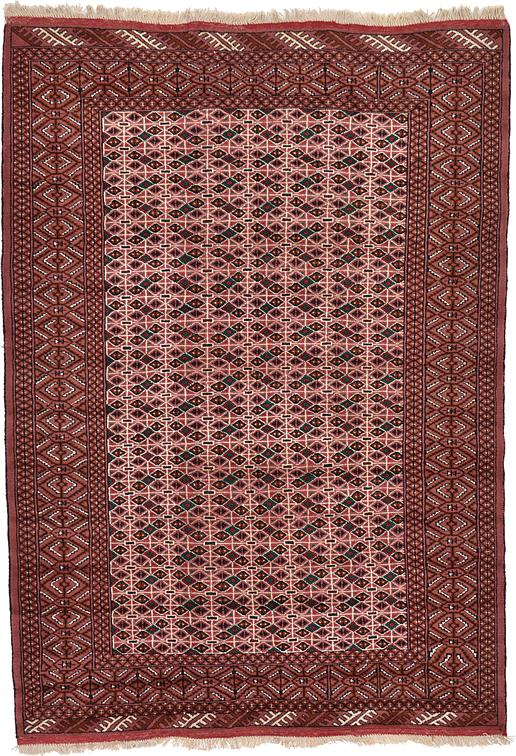 Light Brown 6 8 X 9 8 Torkaman Persian Rug Persian