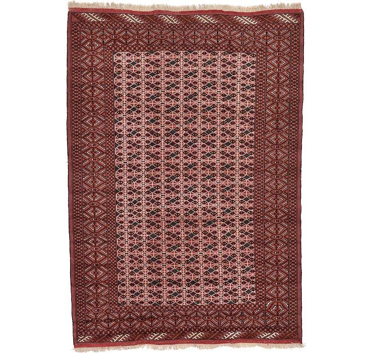 6' 8 x 9' 8 Torkaman Persian Rug