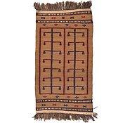 Link to 2' 7 x 4' 10 Kilim Afghan Rug