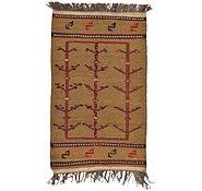 Link to 2' 7 x 4' 4 Kilim Afghan Rug