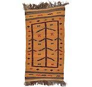 Link to 2' 3 x 4' 2 Kilim Afghan Rug