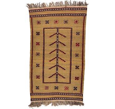 81x132 Kilim Afghan Rug