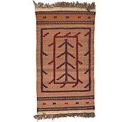 Link to 2' 3 x 4' 1 Kilim Afghan Rug