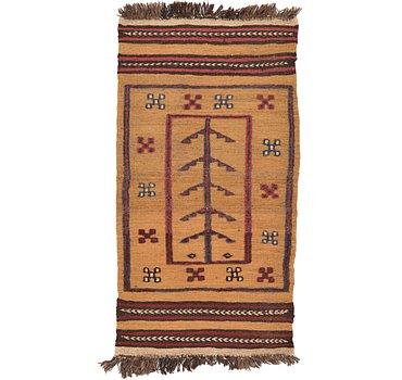 66x124 Kilim Afghan Rug