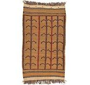Link to 2' 5 x 4' 4 Kilim Afghan Rug