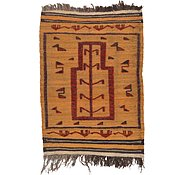 Link to 2' 10 x 4' Kilim Afghan Rug