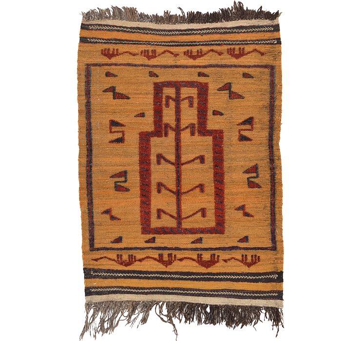 2' 10 x 4' Kilim Afghan Rug