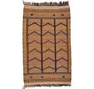 Link to 2' 4 x 4' Kilim Afghan Rug