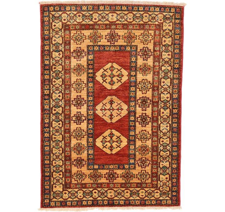 3' 3 x 4' 9 Kazak Oriental Rug