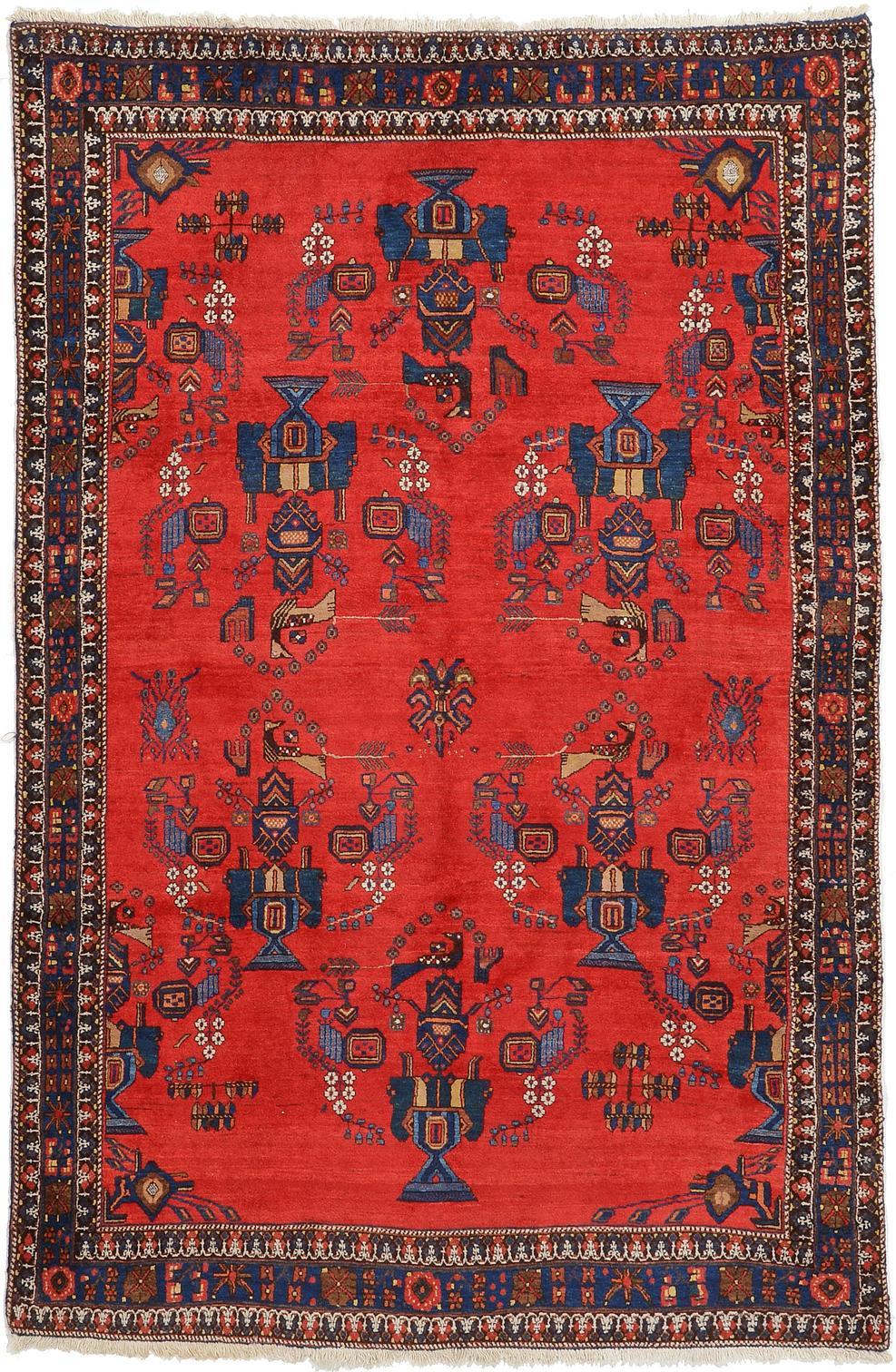 5 7 X 8 Ferdos Persian Rug