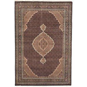 6' 9 x 10' Tabriz Oriental Rug