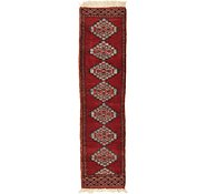 Link to 1' x 3' 10 Bokhara Oriental Runner Rug