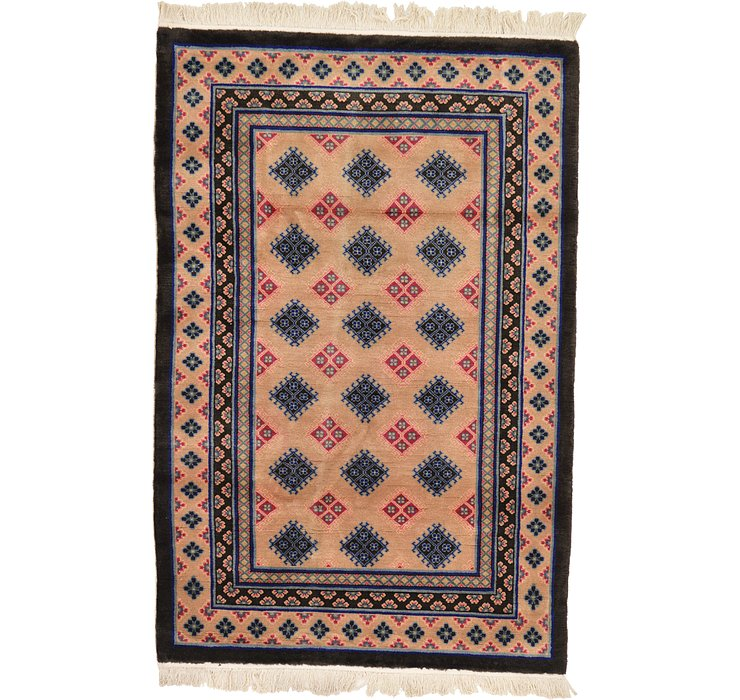 3' 11 x 5' 11 Antique Finish Rug