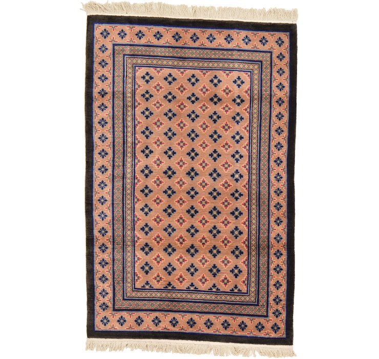 3 11 X 6 Antique Finish Rug