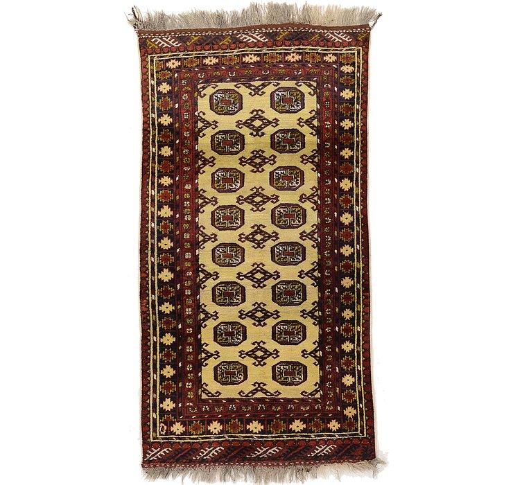 105cm x 195cm Bokhara Oriental Rug