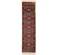 Link to 1' 1 x 3' 10 Bokhara Oriental Runner Rug