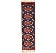 Link to 1' 1 x 3' 11 Bokhara Oriental Runner Rug