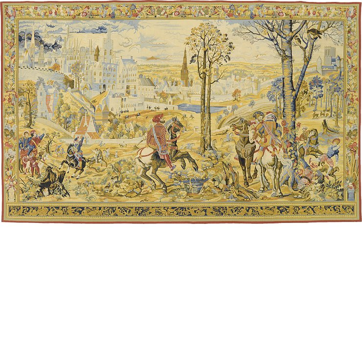 9' 4 x 15' 2 Tapestry Rug