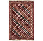 Link to 3' 3 x 4' 10 Bokhara Oriental Rug