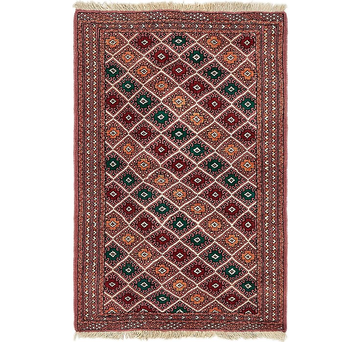 3' 3 x 4' 10 Bokhara Oriental Rug