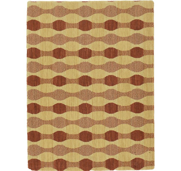 2' 3 x 3' Reproduction Gabbeh Rug