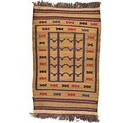 Link to 2' 8 x 4' 2 Kilim Afghan Rug