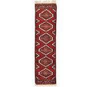 Link to 1' x 3' 10 Bokhara Oriental Runner Rug