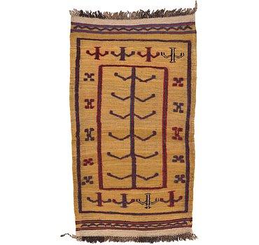 79x137 Kilim Afghan Rug