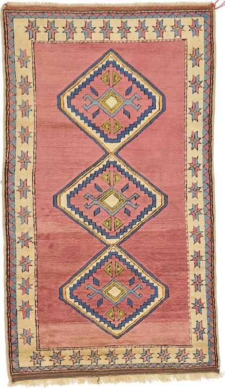 Pink 4 X 7 Kars Rug Oriental Rugs Esalerugs