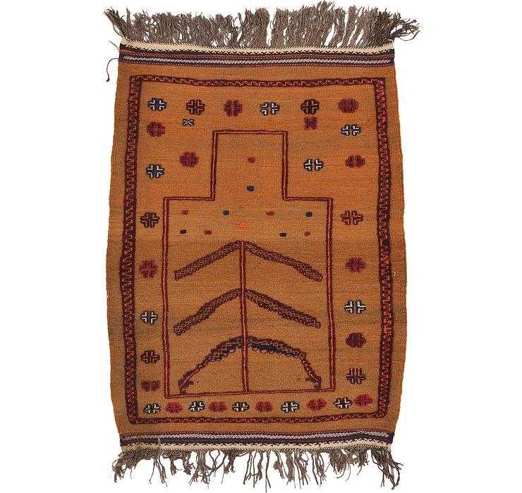 3' x 4' Kilim Afghan Rug