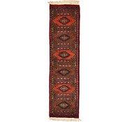 Link to 1' 1 x 4' 1 Bokhara Oriental Runner Rug