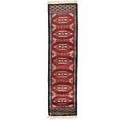 Link to 1' x 4' Bokhara Oriental Runner Rug