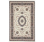 Link to 6' 4 x 10' Tabriz Design Rug