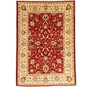 Link to 6' 1 x 8' 8 Peshawar Ziegler Oriental Rug