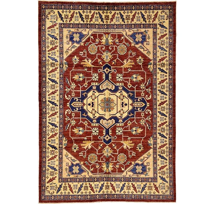 188cm x 272cm Kazak Oriental Rug