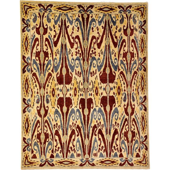 7' 10 x 10' 2 Ikat Oriental Rug