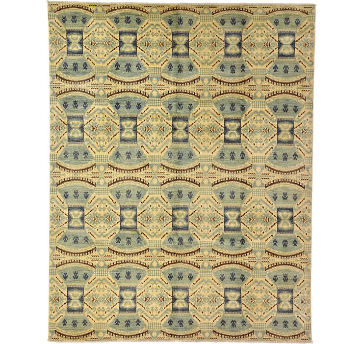 7' 11 x 10' 1 Ikat Oriental Rug