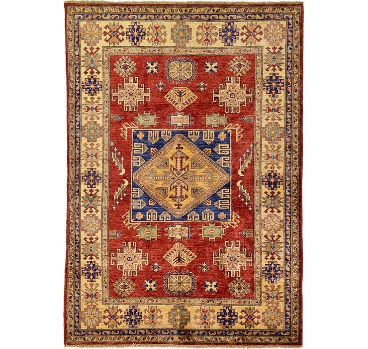 5' 9 x 8' 3 Kazak Oriental Rug