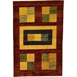 Unique Loom 4' x 5' 11 Modern Ziegler Oriental...