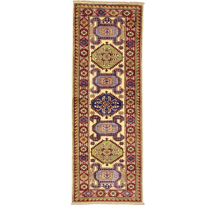 2' 1 x 5' 10 Kazak Oriental Runner Rug