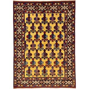 Unique Loom 5' 7 x 7' 9 Kazak Oriental Rug