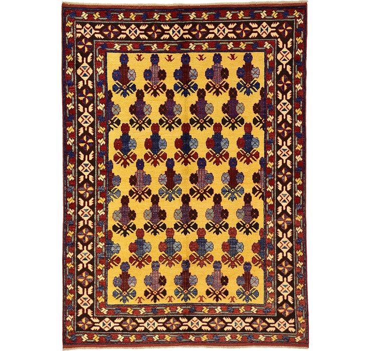 5' 7 x 7' 9 Kazak Oriental Rug