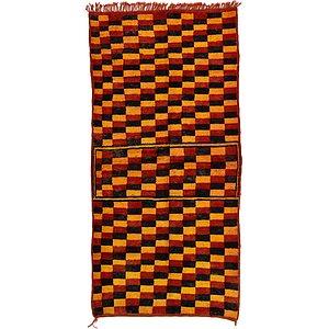 Unique Loom 4' 2 x 8' 6 Moroccan Rug